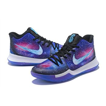 Custom Nike Kyrie 3 Galaxy PE Men's
