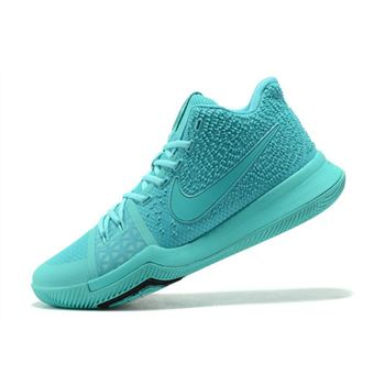 Latest Nike Kyrie 3 Aqua Men's Basketball Shoes 852395-401
