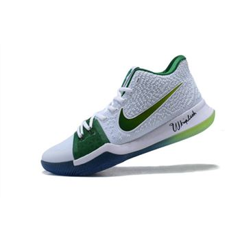 Mens Nike Kyrie 3 Boston Celtics PE Basketball Shoes