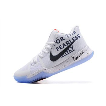 Mens Nike Kyrie 3 For The Fearless Only Basketball Shoes
