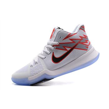 Men's Nike Kyrie 3 Greased Lightning PE Basketball Shoes