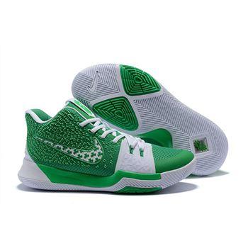 kyrie 3 green white