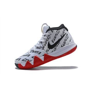 Mens Nike Kyrie 4 BHM Multi Color Equality Basketball Shoes