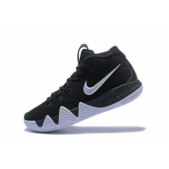 Mens Nike Kyrie 4 Black White