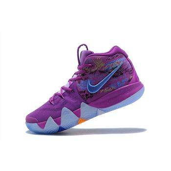 Men's Nike Kyrie 4 Confetti Multi-Color Basketball Shoes 943806-900
