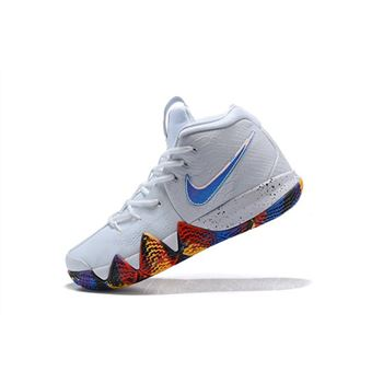 Mens Nike Kyrie 4 NCAA March Madness White Multi Color
