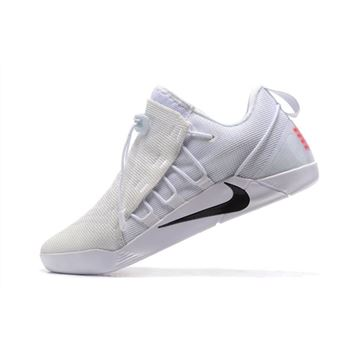 Nike Kobe AD NXT White/Black Men's Shoes 882049-100 On Sale