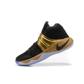 Nike Kyrie 2 Black Gold Finals PE