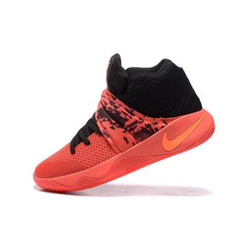 Nike Kyrie 2 Inferno Bright Crimson Atomic Orange Black