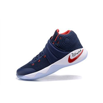 Nike Kyrie 2 Navy Blue/Red-White For Sale