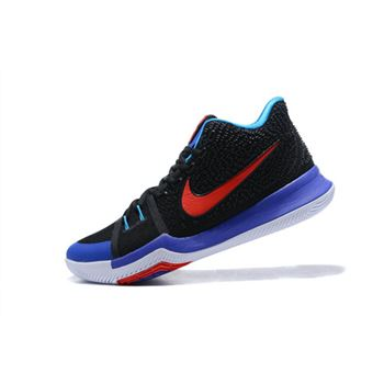Men's Nike Kyrie 3 Kyrache Light Black/Team Orange-Concord-Neo Turquoise 852396-007