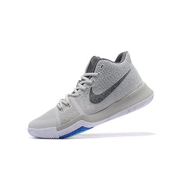 Nike Kyrie 3 Wolf Grey PE Mens Basketball Shoes