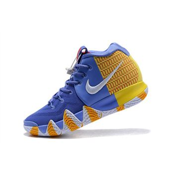 Nike Kyrie 4 London PE Purple Yellow Red White