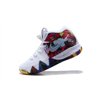 Nike Kyrie 4 Madness NCAA White Multi Color
