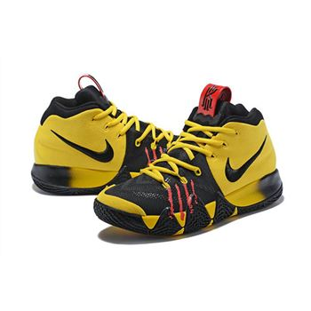 Nike Kyrie 4 Mamba Mentality Bruce Lee Tour Yellow/Black For ...