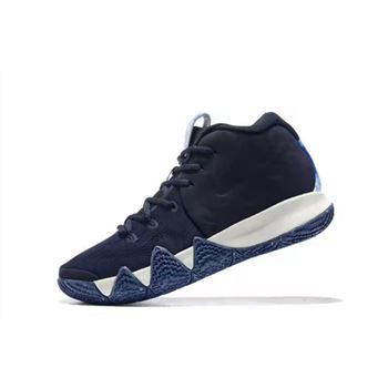 Nike Kyrie 4 N7 Dark Obsidian Dark Obsidian Light Bone