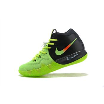 Nike Kyrie 4 Neon PE Black Volt Red