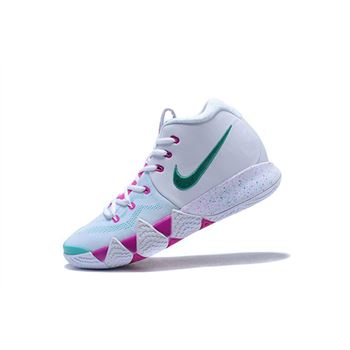 Nike Kyrie 4 White Pink Mint Green Mens Size