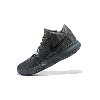 Nike Kyrie Flytrap NBA Playoffs Anthracite/Black-White-Green 917962-600