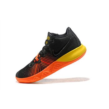 Nike Kyrie Flytrap Black/Orange-Yellow Men's Shoes Free Shipping