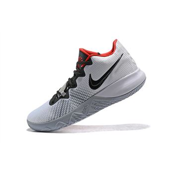 Nike Kyrie Flytrap White Black University Red Mens Shoes Free Shipping