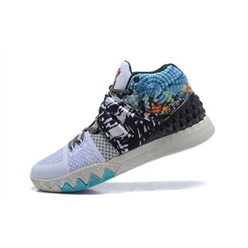 Nike Kyrie S1 Hybrid All Star Effect White Black Multi Color