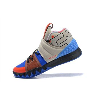 Nike Kyrie S1 Hybrid What The Kyrie Brown Khaki Blue Orange Black