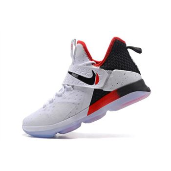 Cheap Nike LeBron 14 Flip the Switch Black/White-University Red 921084-103