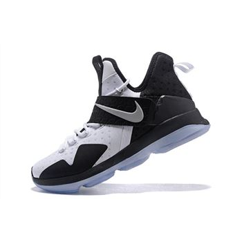 Nike LeBron 14 White Black Mens Basketball Shoes
