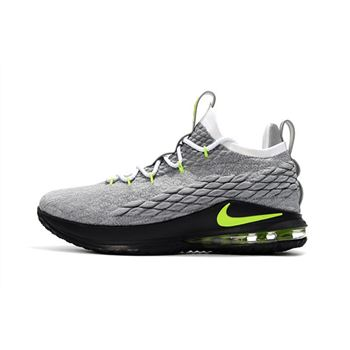 Nike LeBron 15 Low Neon Mens Basketball Shoes