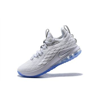 Nike LeBron 15 Low White Ice Men's Basketball Shoes