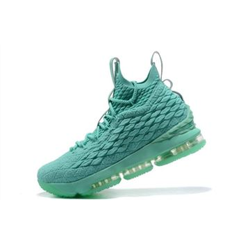 Nike LeBron 15 Mint Green Men's Basketball Shoes For Sale