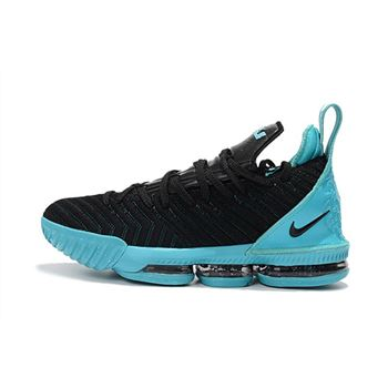 Nike LeBron 16 Black Jade Men's Basketball Shoes For Sale