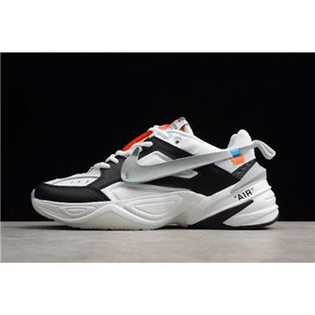 2018 Off White x NIKE M2K Kekno Black White Grey Mens and Womens Size