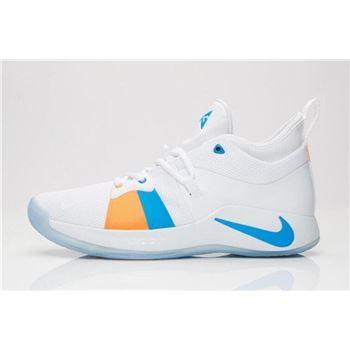 Latest Nike PG 2 The Bait II White Photo Blue