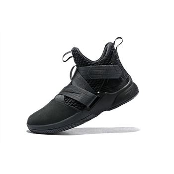 Mens Nike LeBron Soldier 12 SFG Zero Dark Thirty Anthracite Anthracite Black