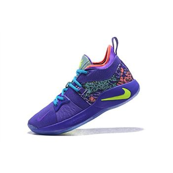 Men's Nike PG 2 Mamba Mentality Cannon/Volt-Purple Venom AO2986-001