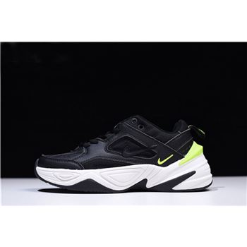 Men's and Women's Nike M2K Tekno Black/Black-Phantom-Volt AO3108-002