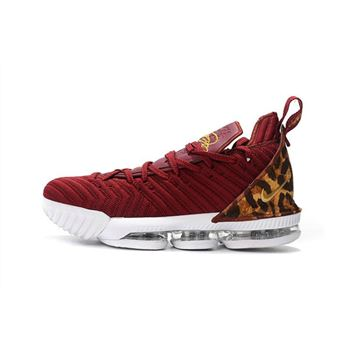 Nike LeBron 16 King Team Red Metallic Gold Multi Color
