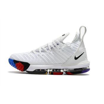Nike LeBron 16 White Multi Color