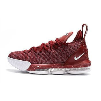 Nike LeBron 16 Wine Red Wine White