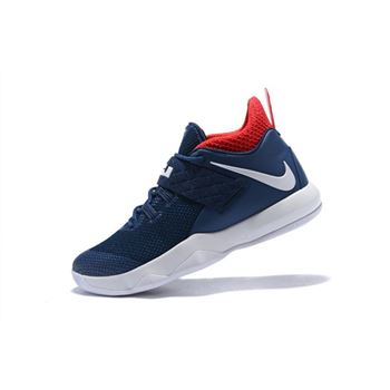 Nike LeBron Ambassador 10 USA Navy White Red