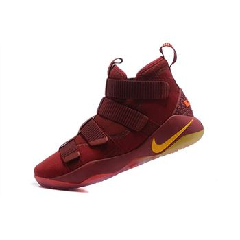 retro nike shoes with zipper boots sale women Cavs PE Wine Red/Gold For Sale