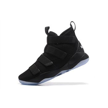 Nike LeBron Soldier 11 Strive for Greatness Black/Ice Blue 897646-001