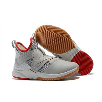 Nike LeBron Soldier 12 Yeezy Light Bone AO2609-002 Free Shipping