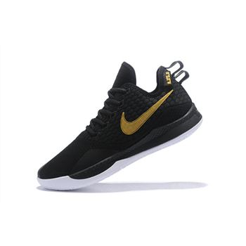 Nike LeBron Witness 3 Black Metallic Gold