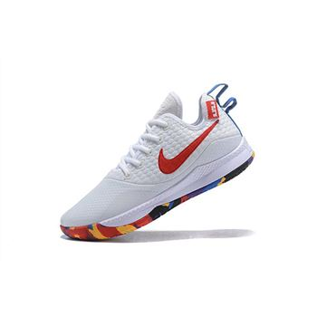 Nike Lebron Witness 3 March Madness White Multi Color