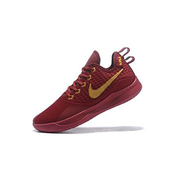 Nike Lebron Witness 3 Red Wine Metallic Gold