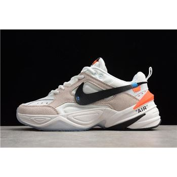 Off White x Nike M2K Kekno Beige White Mens and Womens Size