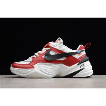 Off White x Nike M2K Kekno Red White Black